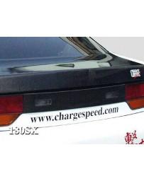 ChargeSpeed 93-94 Nissan 240SX HB Carbon Rear Center Garnish
