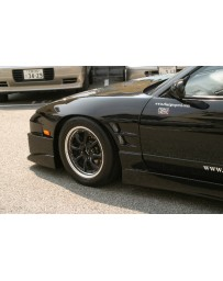 ChargeSpeed 240SX RPS-13 Flip Light 20mm Widebody Front Fender
