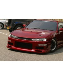 ChargeSpeed 240SX S-14 Kouki Front Bumper (Japanese FRP)