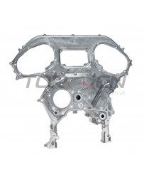 R35 GT-R Nissan OEM Timing Chain Engine Cover, Front