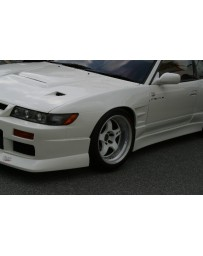 ChargeSpeed 180 Silvia D-1 Style 20mm Widebody Front Fenders