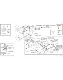 300zx Z32 Nissan OEM Plug Rubber