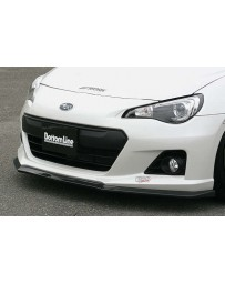 ChargeSpeed 13-16 Subaru BR-Z BL T-1 CF Front Lip