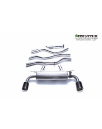 ARMYTRIX Stainless Steel Valvetronic Catback Exhaust System Dual Matte Black Tips Toyota Supra 3.0 Turbo A90 MK5 2020+