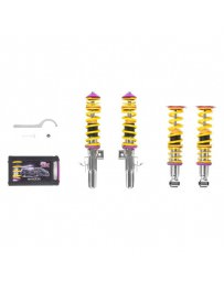 "Toyota GT86 KW Suspensions 0.8""-2.0"" x 0.8""-2.0"" V1 Inox-Line Coilover Lowering Kit"