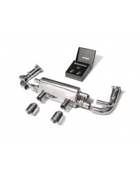 ARMYTRIX Stainless Steel Valvetronic Exhaust System w/Race Pipe Porsche 992 Carrera 3.0L 2020+