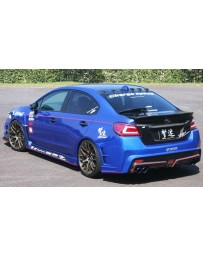 ChargeSpeed 2015-20 WRX 4Dr T2 Rear Bumper FRP