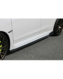 ChargeSpeed 15-20 WRX STi 4D BottomLine FRP T-2 Side Skirts
