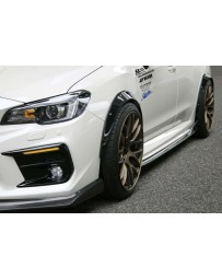 ChargeSpeed 15-20 WRX STi Carbon Bubble OverFender