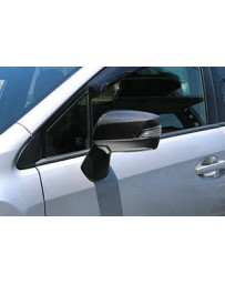 ChargeSpeed 15-20 WRX/ STi Sedan DRY Carbon Door Mirror Cowl