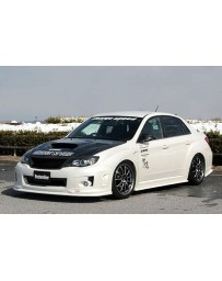 ChargeSpeed 11-12 WRX STI 4D Bottom Line FRP Full Lip Kit