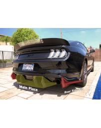 15-17 Ford Mustang Street Aero Rear Diffuser