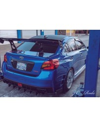 2015+ Subaru WRX Street Aero Rear Diffuser