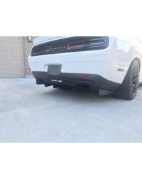 15-18 Dodge Challenger Street Aero Rear Diffuser