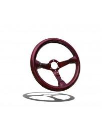 Street Aero Crimson Carbon Fiber Steering Wheel