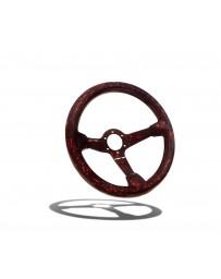 Street Aero Crimson Forged Carbon Fiber Steering Wheel
