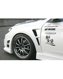 ChargeSpeed 2008-2014 WRX STi GR GV Front Fenders 20mm Wide