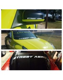 Street Aero Decals (Pair of 2)