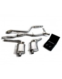 ARMYTRIX Stainless Steel Valvetronic Exhaust System Mercedes Benz C300 W205 Right Hand Drive 2018-2019