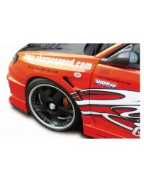 ChargeSpeed Impreza WRX D-1 Front Fenders 20mm Wider