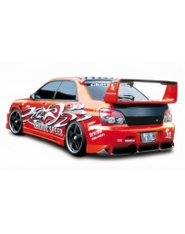 ChargeSpeed 05-07 WRX T-2 Rear Bumper With Carbon Diffuser