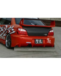 ChargeSpeed Impreza WRX Type-2 Rear Bumper W/O Carbon Diffuser