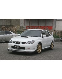 ChargeSpeed Subaru WRX Bottom Line Full Lip Kit Type2 (FRP)