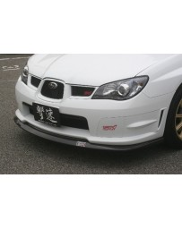 ChargeSpeed Subaru Bottom Line Front Lip Type-1 for STi Carbon