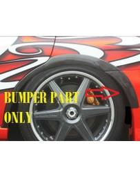 ChargeSpeed 05-07 Subaru WRX Carbon Rear O.V.F. Bumper Side