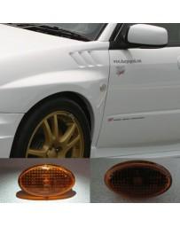 ChargeSpeed 02-07 Impreza WRX JDM Side Markers Amber