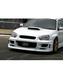ChargeSpeed 05 Impreza WRX T-1 Full Bumper Kit With Over Fend