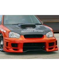 ChargeSpeed Impreza WRX Type2 Front Bumper W/ 3D Carbon