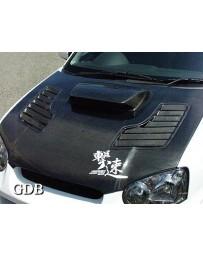 ChargeSpeed 04-05 Subaru WRX Impreza Vented FRP Hood