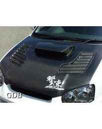 ChargeSpeed 2004-2005 Impreza Vented Carbon Hood