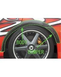 ChargeSpeed Impreza WRX FRP Body Over Fender + Bumper Part