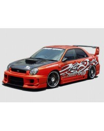 ChargeSpeed Impreza Type-2 Full Body Kit 3D Carbon Center