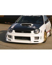 ChargeSpeed Impreza WRX Type1 Front Bumper (Japanese FRP)