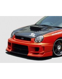 ChargeSpeed Impreza WRX Type 2 Front Bumper W/Straight