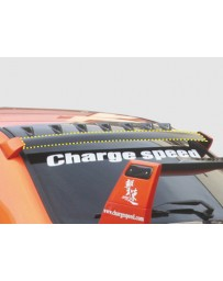 ChargeSpeed Impreza WRX OEM Style Carbon Roof Vane Wing