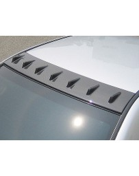 ChargeSpeed Impreza WRX Carbon Roof Fin