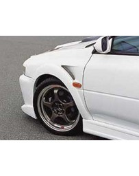 ChargeSpeed Impreza GC-8 D-1 Front Fender (Japanese FRP) Pair