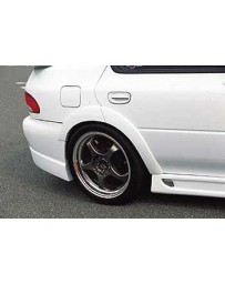 ChargeSpeed Subaru Impreza GC-8 4Dr. D-1 Rear Over Fender