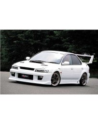 ChargeSpeed Impreza GC-8 Front Bumper (Japanese FRP)