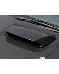 ChargeSpeed Subaru WRX GC-8 FRP Hood Duct GD-B STi Style