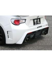 ChargeSpeed 2013-2020 Subaru BR-Z T2 Rear Bumper