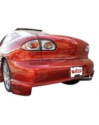 VIS Racing 1995-2002 Pontiac Sun Fire 2Dr Striker Rear Bumper