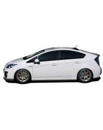 ChargeSpeed Toyota Prius Bottom Line Side Skirts Carbon