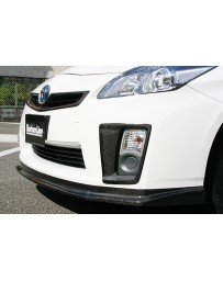 ChargeSpeed Toyota Prius Front Bumper Side Cowl Carbon