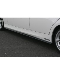 ChargeSpeed 2005-2008 BMW E90 3 SERIES SEDAN FRP SIDE SKIRTS