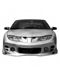 VIS Racing 2003-2005 Pontiac Sun Fire 2Dr/4Dr Ballistix Front Bumper